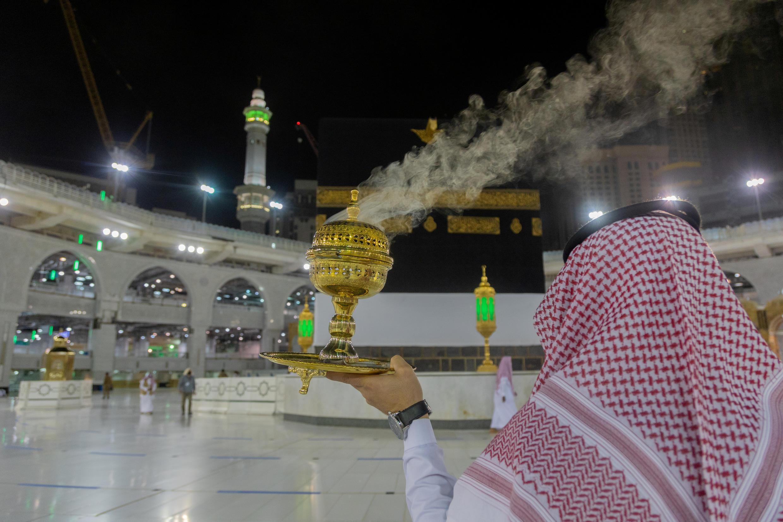 Ritual da peregrinação anual a Meca, um dos cinco pilares do Islã, foi alterado pela pandemia de Covid-19.
