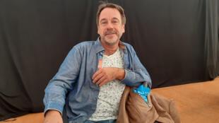 Michel Bussi, anciennement géographe au Centre National de la Recherche Scientifique, président de la 31ème édition du festival de géographie de Saint-Dié-des-Vosges.