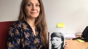 Anne Kerlan,法國歷史學者、國家科研中心(CNRS)中國研究所主任、法文版林昭傳《自由女戰士:林昭》的作者。