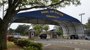 نمایی از پایگاه نظامی آمریکایی در فلوریدا