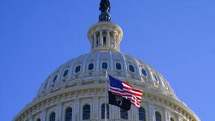 O Capitólio, em Washington, nos Estados Unidos em 29 de dezembro de 2020. Novo Congresso americano assume suas funções em meio a um ambiente de expectativa pela definição da maioria no Senado e pela promessa de uma sessão agitada na próxima quarta (6), quando será selada a vitória do presidente eleito Joe Biden.