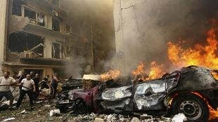 L'attentat a frappé le quartier chrétien d'Ashrafieh et a fait au moins huit morts et 86 blessés.