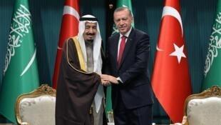 رجب طیب اردوغان و ملک سلمان قبلا روابط گرمتری داشتهاند