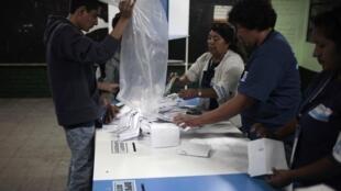 Eleições presidenciais na Guatemala devem ter segundo turno.