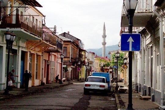 Минарет батумской мечети (Аджария)