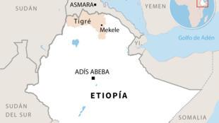 La region de Tigré