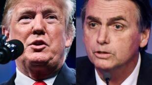 Pour sa première rencontre bilatérale, Jair Bolsonaro a choisi de se rendre à Washington pour s'entretenir avec son allié idéologique Donald Trump.