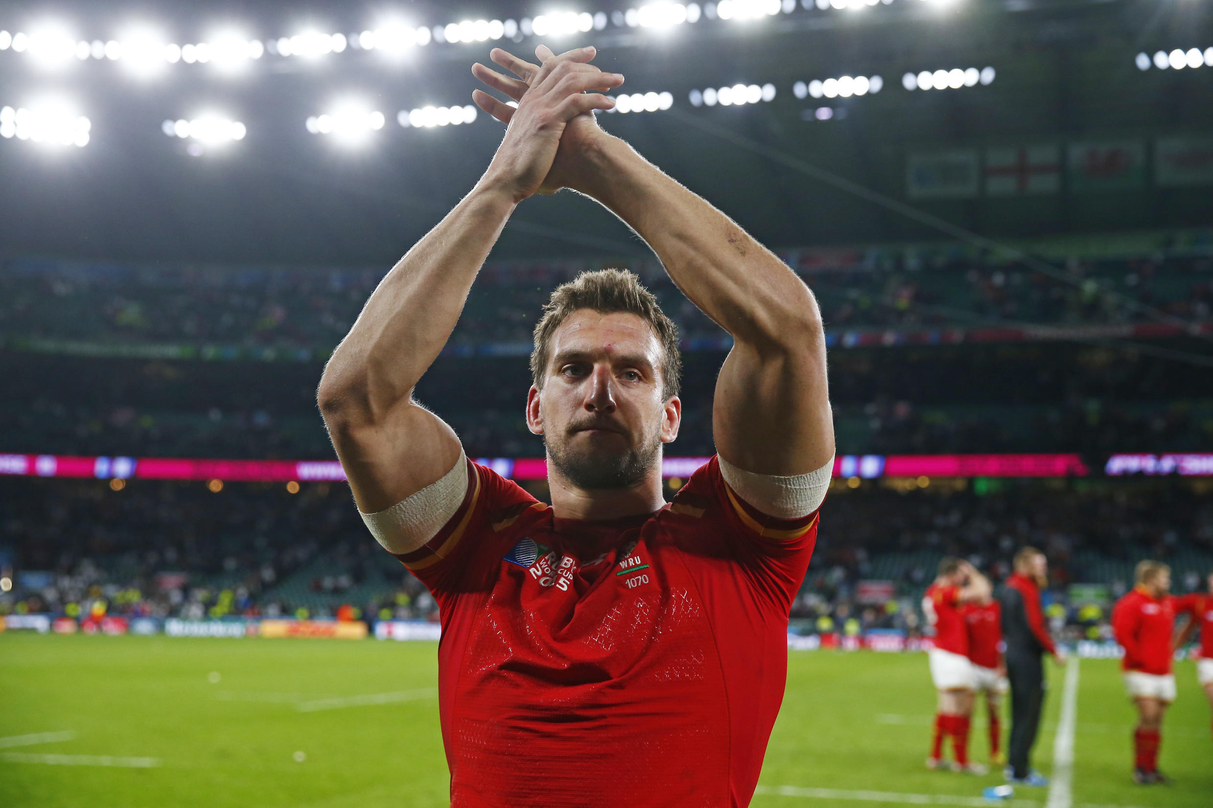 Wales skipper Sam Warburton has led his men to three victories at the rugby World Cup.