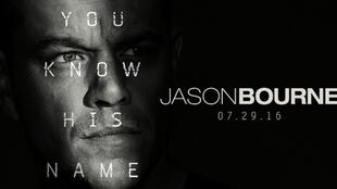 Affiche promotionelle du film «Jason Bourne».