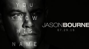 Affiche promotionelle du film «Jason Bourne».