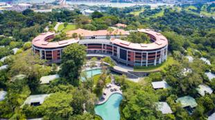 هتل کاپلا در جزیره سنتوزا در سنگاپور، محل برگزاری دیدار میان رهبران آمریکا و کره شمالی