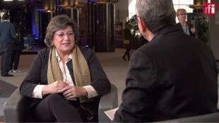 La eurodiputada portuguesa Ana Gomes es miembro del grupo de la Alianza de los Liberales y Demócratas en el Parlamento europeo.