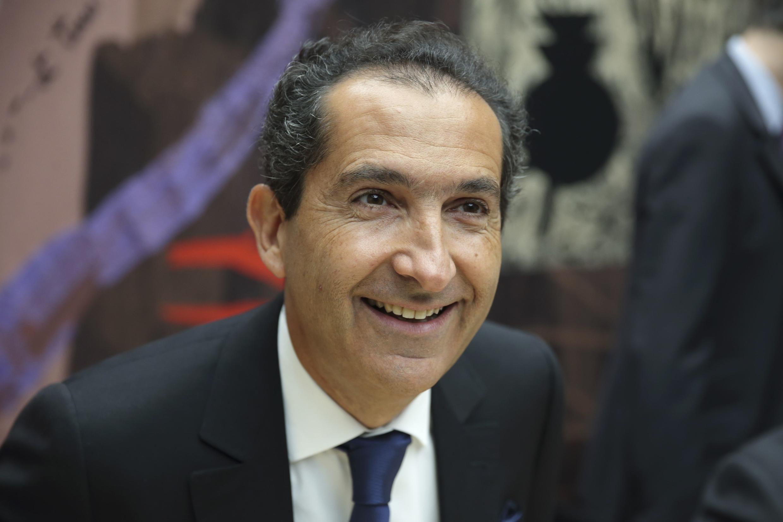 Altice Media Group boss Patrick Drahi