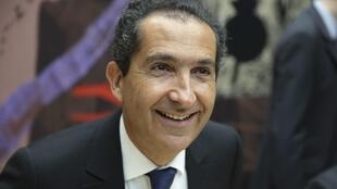 L'homme d'affaires franco-israélien Patrick Drahi, patron d'Altice Media Group France, à Paris, le 27 mai 2015.