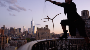 US puppeteer Basil Twist in New York