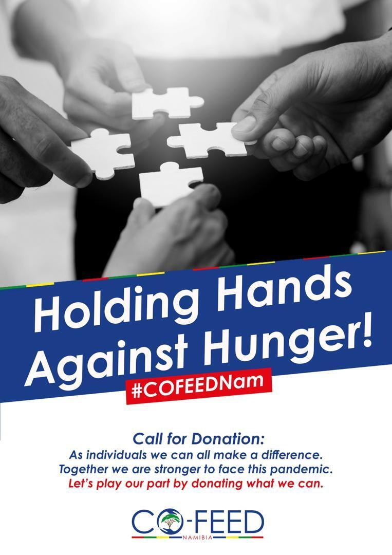CoFeedNam was created by Namibians to help the poor during the Covid-19 pandemic