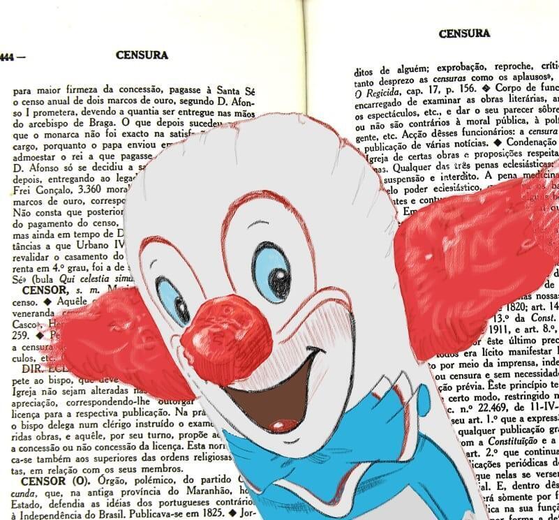 """Cena do curta de animação """"Infláveis"""", do cineasta Gunga Guerra."""