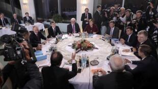 Встреча «нормандской четверки» в Берлине, 19 октября 2016 г.