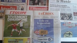 Os jornais desta segunda-feira, dia 20 de Junho.