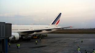 Tarmac de l'aéroport d'Abidjan.