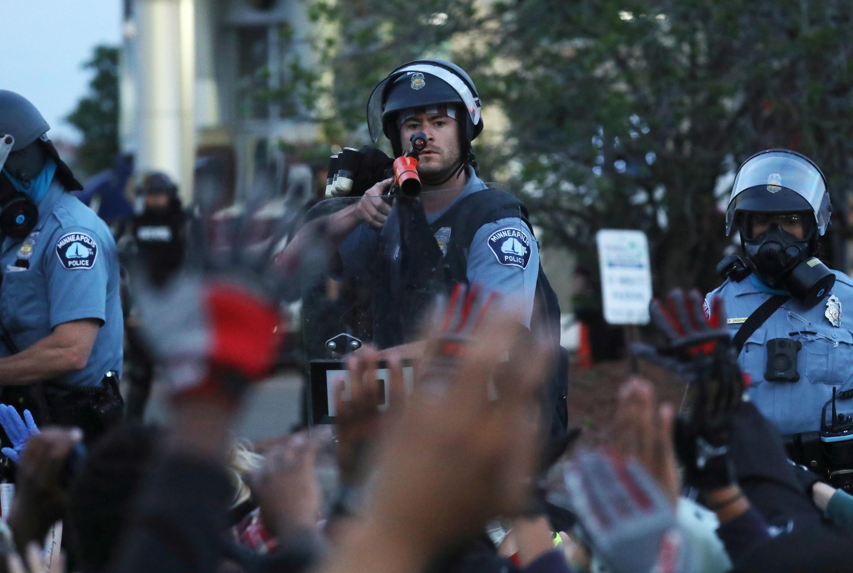 George Floyd - Minneapolis - police - manifestation