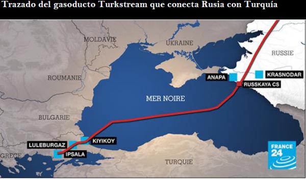 La nueva ruta del gas entre Rusia y Turquía