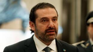 Firaministan Saad al-Hariri na Lebanon
