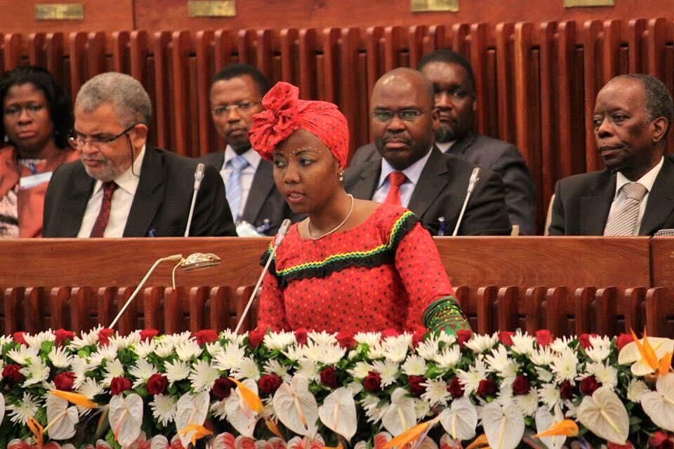 Ivone Soares, líder parlamentar da Renamo