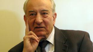 Akbar Etemad, ancien président de l'Organisation Iranienne de l'Energie Atomique