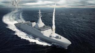 法國希望在羅馬尼亞軍售競標中獲勝的Gowind2500型護衛艦