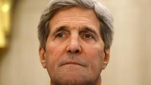US Secretary of State John Kerry in Cairo
