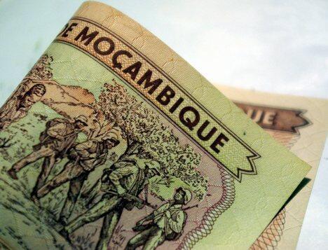 O metical, moeda moçambicana