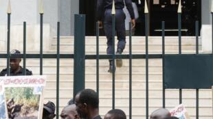 Le tribunal d'Abidjan où se déroule de procès dit « des pro-Gbagbo » en Côte d'Ivoire.