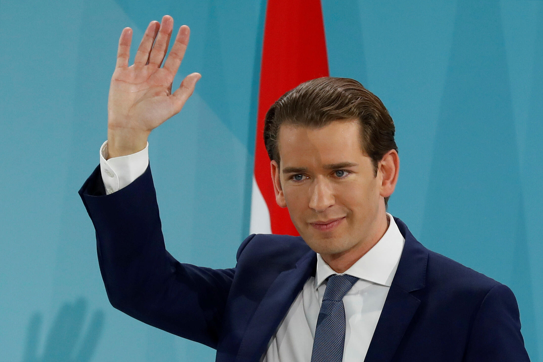 O chanceler austríaco, Sebastian Kurz