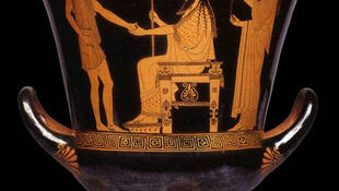Античная греческая ваза, VI-IV век до н.э.