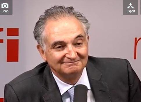 Jacques Attali, essayiste français, ancien conseiller spécial de François Mitterrand.