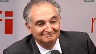 Jacques Attali, écrivain et président de PlaNet Finance, ancien collaborateur de François Mitterrand.