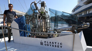 Le «Plastic Odyssey».