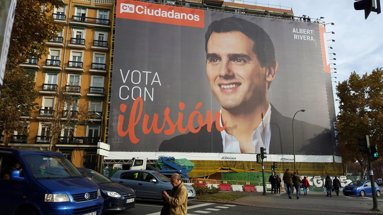 """Испания: Кандидат от партии """"Граждане"""""""