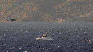 Des centaines de personnes seraient portées disparues, après le naufrage de leur embarcation en mer Méditerranée (photo d'illustration).
