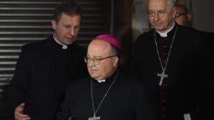 Mgr Charles Scicluna, archevêque de Malte, le 14 juin 2019 à Wałbrzych.