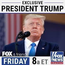 اعلام گفتگوی اختصاصی شبکه فاکس نیوز با دونالد ترامپ