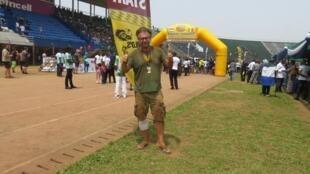 Andrew Szabo the founder Budapest - Bamako rally
