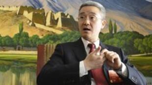 图为网络刊前中共总书记胡锦涛之子胡海峰照片