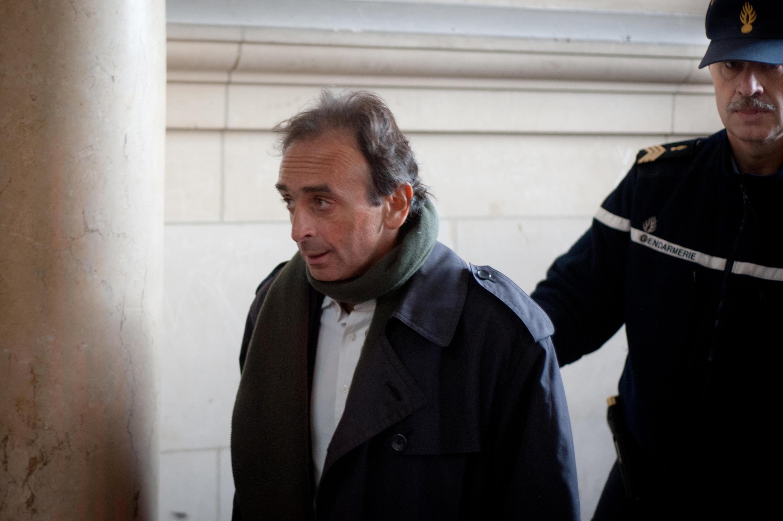 Eric Zemmour est connu pour ses propos polémiques. Ici, le 14 janvier 2011 au tribunal de Paris, où il comparaissait pour provocation à la haine raciale.