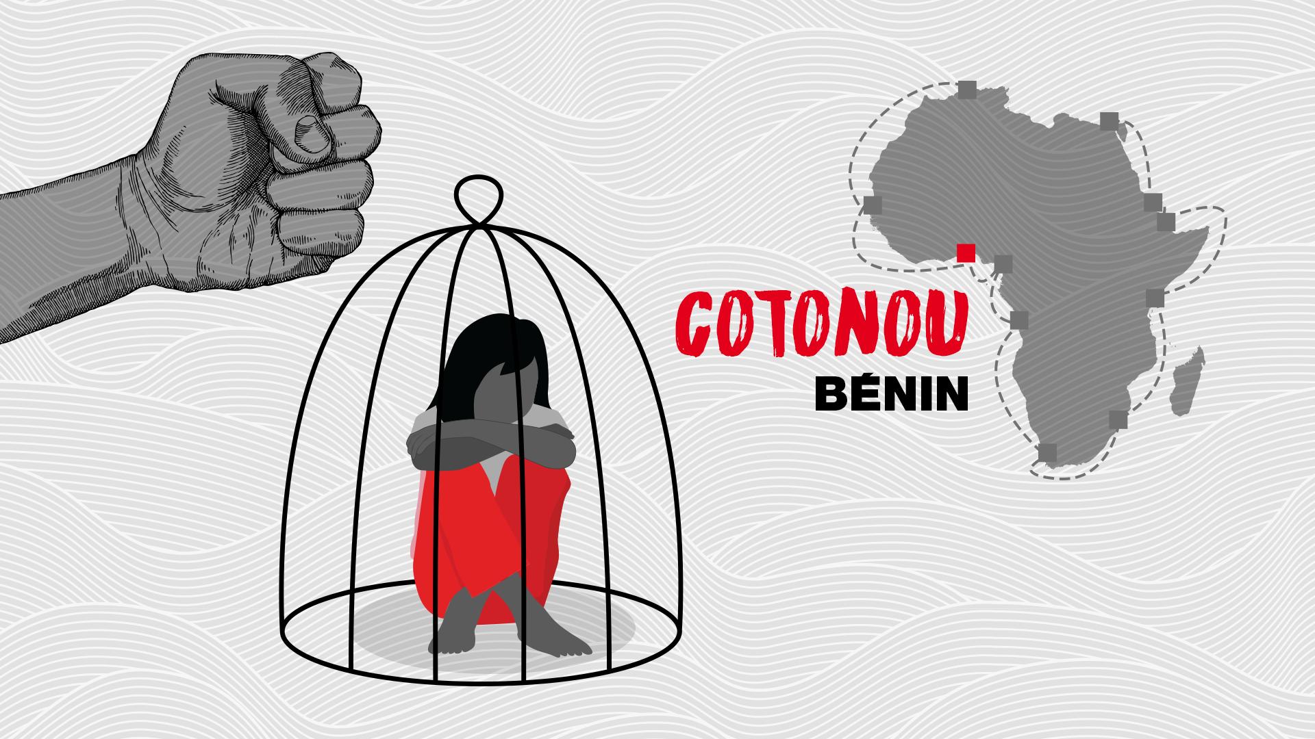 Cotonou, ville portuaire et coeur économique du Bénin.
