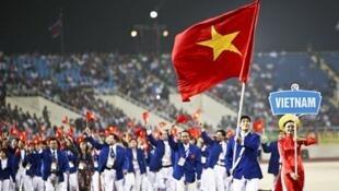 Đoàn thể thao Việt Nam tại Asiad 16- 2010 Quảng Châu, Trung Quốc.