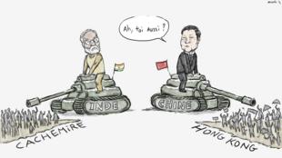 دنیا از نگاه «موش»: انگیزههای همسان برای کشمیر و هنگکنگ