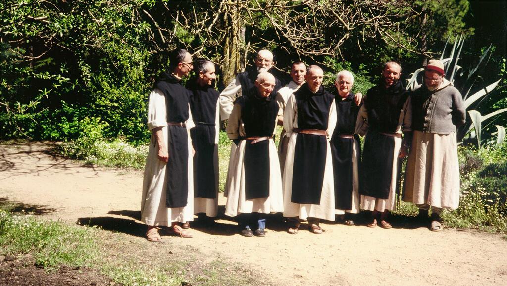 Les moines de Tibéhirine en Algérie.