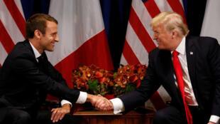 法國總統馬克龍4月23日啟程訪問美國,他將和美國總統特朗普會面